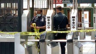 Woman slashed in random attack at NYC subway station