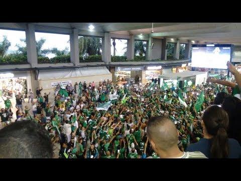 Deportivo Cali Rumbo A Medellin | Caravana y fiesta