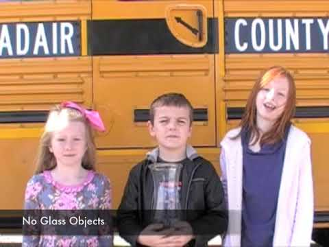 Bus Safety For Everyone Adair County Primary Center