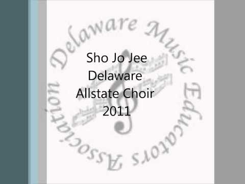 Sho Jo Jee- Delaware Jr. Allstate Choir Travel Video