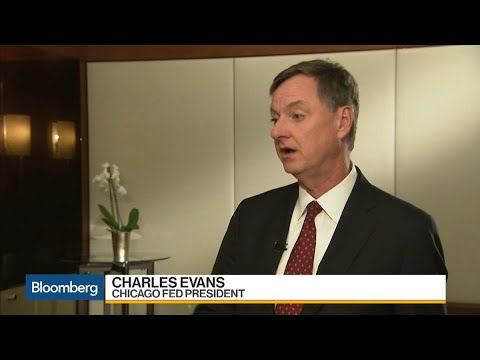 Fed's Evans on Economy, Inflation, Monetary Policy