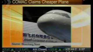 COMAC Claims Cheaper Plane Than Boeing Or Airbus - Bloomberg