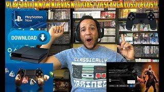 PS NOW ALGO BUENO  !! DESCARGA LOS JUEGOS !! Playstation - ps4