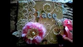 Prima Tea Thyme Lace Book
