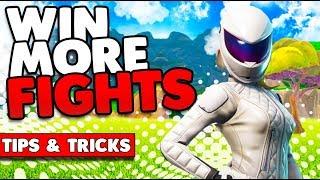 WIN MORE FIGHTS! | BUILDING TIPS & TRICKS | FORTNITE BATTLE ROYALE
