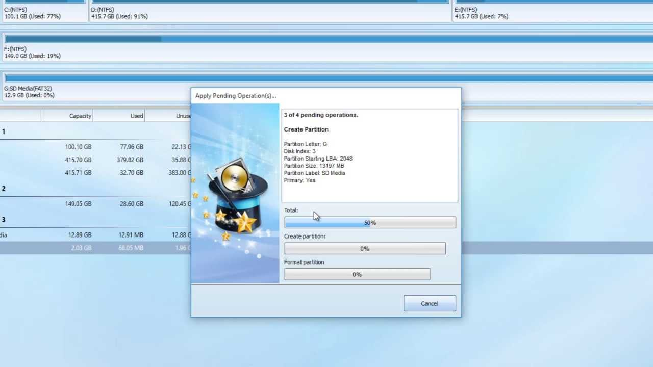 How to Partition Micro SD card for Link2SD