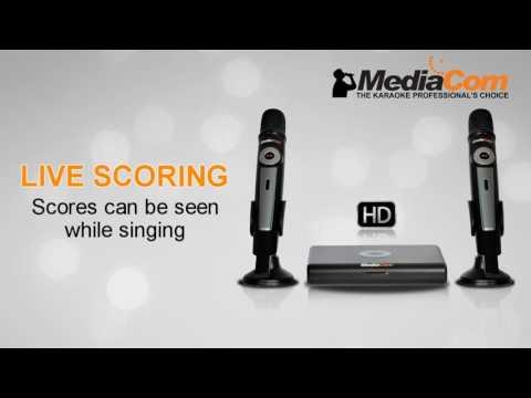 MediaCom Karaoke - Mci 6200TW Premium Series