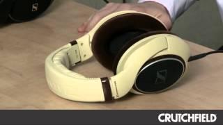 Sennheiser HD 558 and HD 598 Headphones | Crutchfield Video