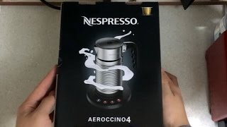 네스프레소 에어로치노4 언박싱, 리뷰 & 사용법…