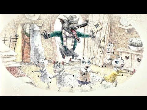 Бабушкины сказки - Волк и семеро козлят | Мультфильмы для детей