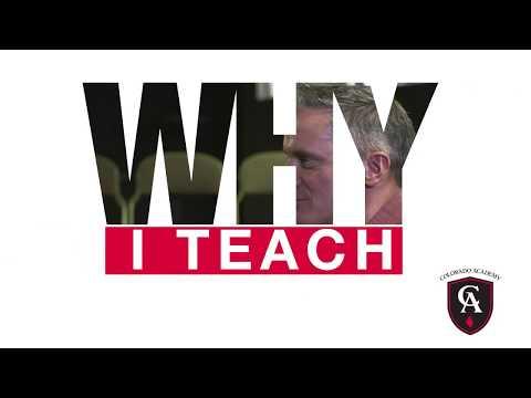 Colorado Academy Middle and Upper School Theater Teacher, James Meehan, on 'Why I Teach'