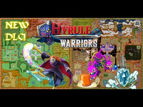 Hyrule Warriors NEW DLC pack - Ravio & Yuga HD: ALL COMBOS, WEAPONS & MORE!