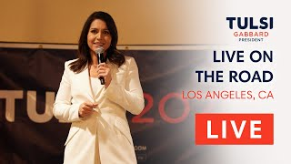 Tulsi Gabbard LIVE - Tulsi Veterans Day Town Hall - Los Angeles, CA