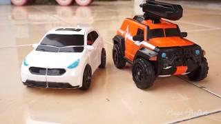 Unboxing Mainan Tobot Athlon Zango dan Ambulun | Mainan Anak Mobil Robot | Tobot Bahasa Indonesia