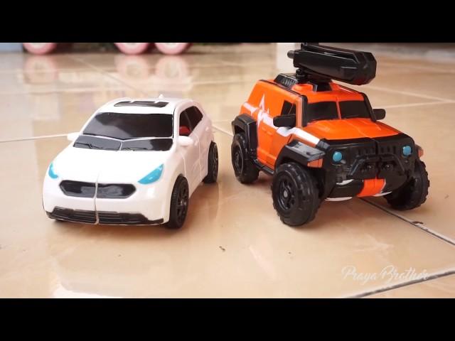 Unboxing Mainan Tobot Athlon Zango dan Ambulun   Mainan Anak Mobil Robot   Tobot Bahasa Indonesia