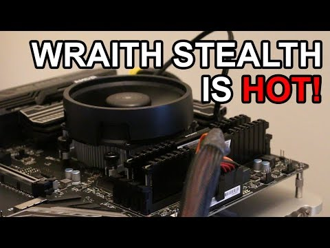 Don't Overclock with the Wraith Stealth Cooler