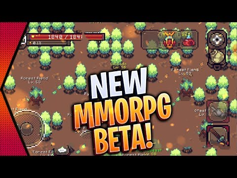 Curse Of Aros - NEW OPEN-WORLD 2D MMORPG WITHOUT PAY2WIN BETA GAMEPLAY ANDROID & IOS | MGQ Ep. 395
