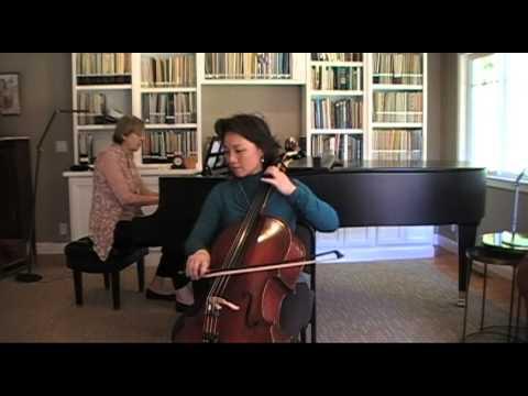 Antonio Vivaldi - Sonata in E minor for cello, 1st & 2nd Mvt. Op. 14, No. 5