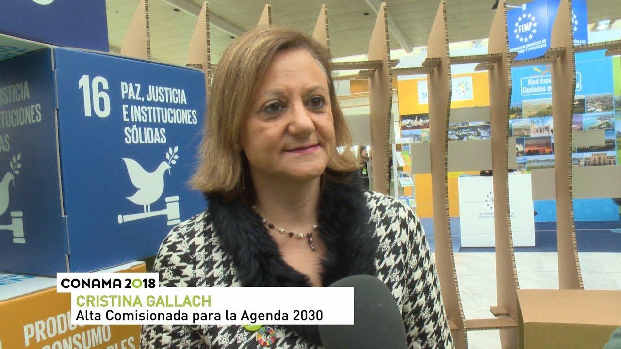 Entrevista a Cristina Gallach en Conama 2018