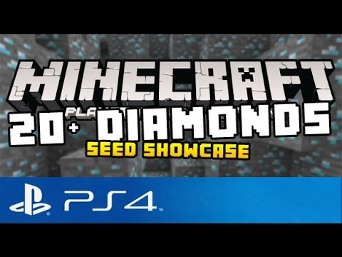 how to get seeds in minecraft ps4