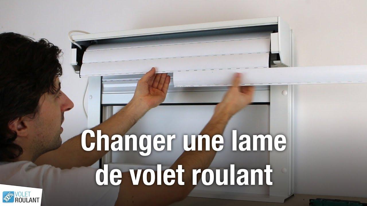 Changer Une Lame De Volet Roulant 100 Volet Roulant