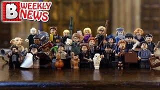 LEGO Hogwarts Castle with 6000 parts?!! Harry Potter Collectible Minifigs ARE AMAZING!   LEGO News