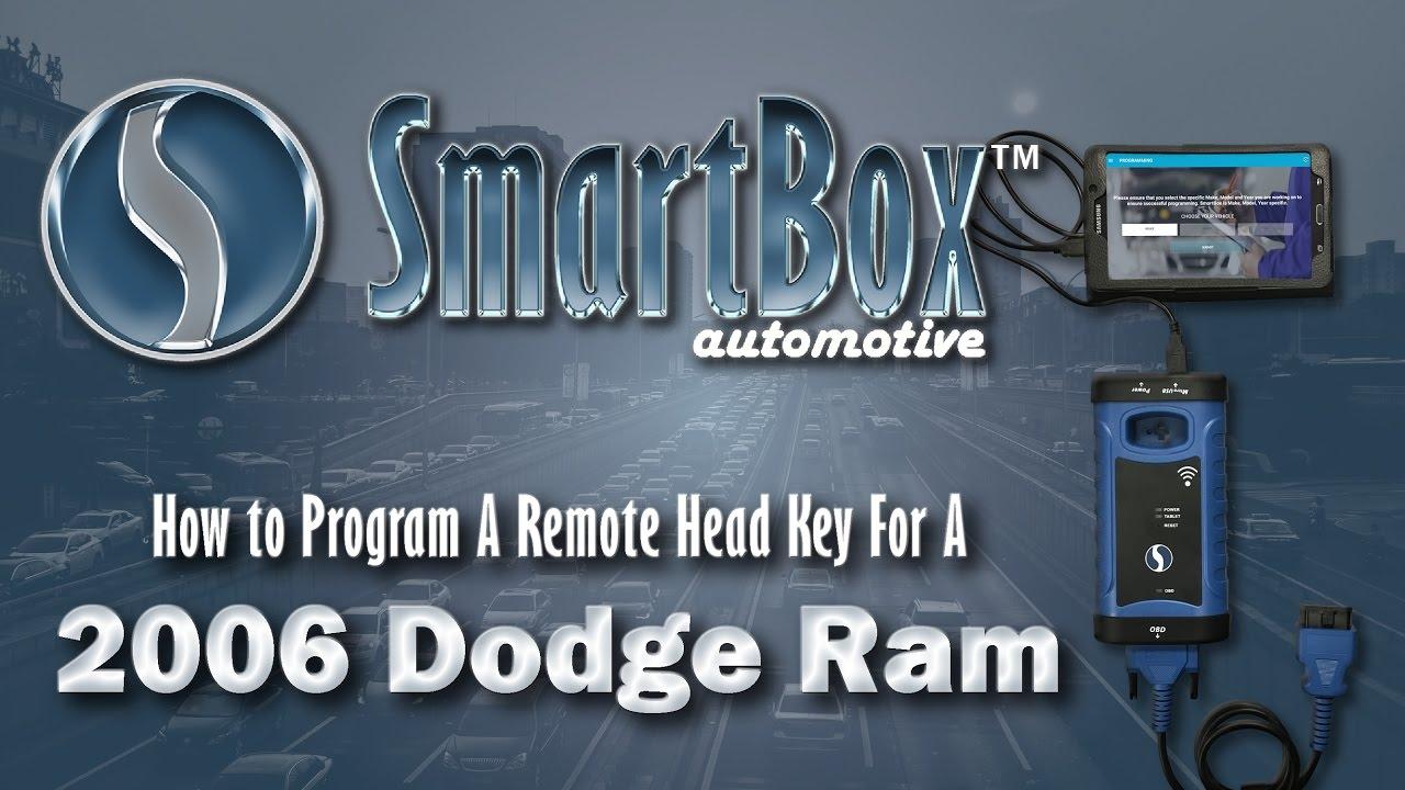 How to Program a Remote Head Key to a 2006 Dodge Ram