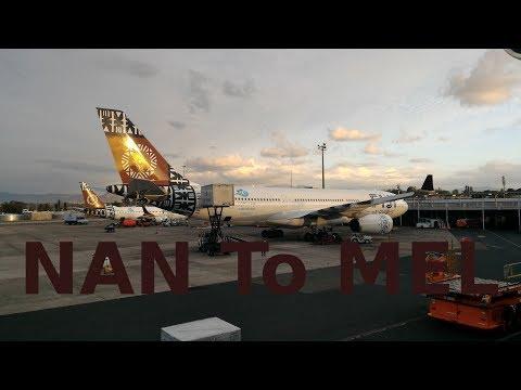 Fiji Airways - FJ 931 - Boeing 737-800 (twin-jet) - NAN to MEL (21-09-2017)