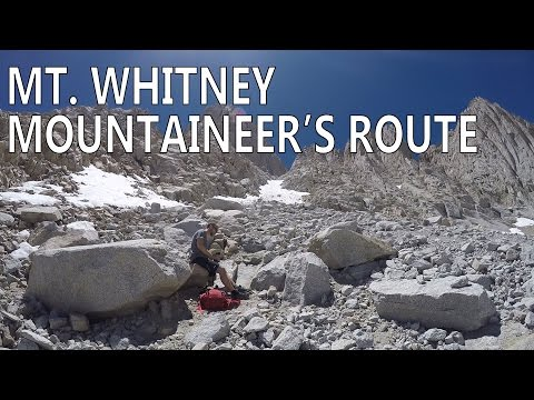 Mount Whitney: The Mountaineer's Route