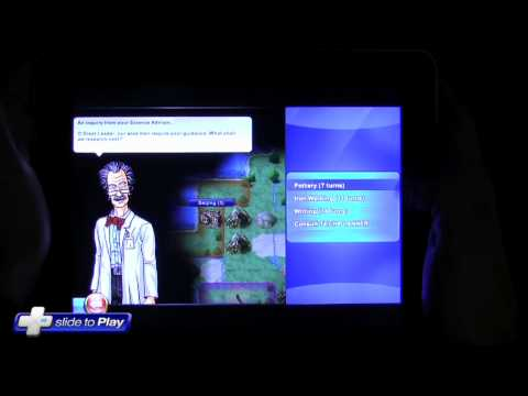 Civilization Revolutions iPad Game Hands-On Gameplay Video