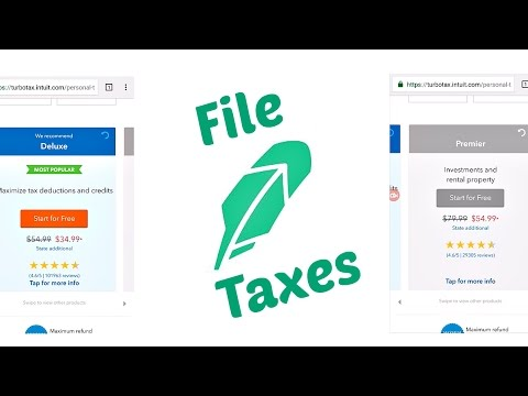 ROBINHOOD APP│How to File Taxes (Turbo Tax)