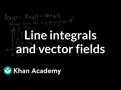 Line integrals and vector fields | Multivariable Calculus | Khan Academy