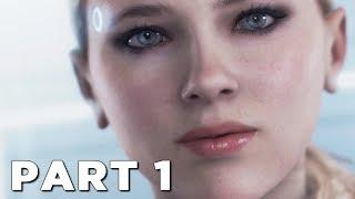 DETROIT BECOME HUMAN Walkthrough Gameplay Part 1 - INTRO (PS4 Pro) thumbnail
