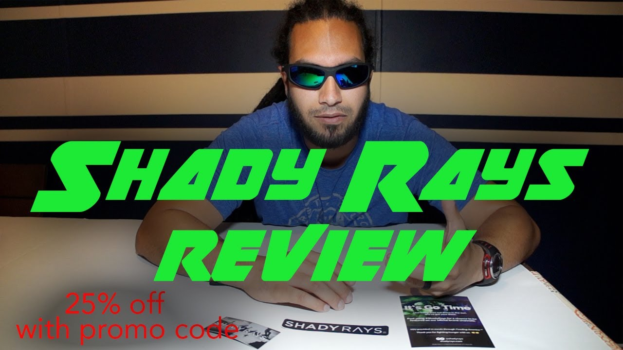 6847c08291 Shady Rays sunglasses review - YouTube
