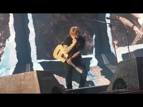 Don't / New man - Ed Sheeran live in Turin - Divide Tour 17.03.2017
