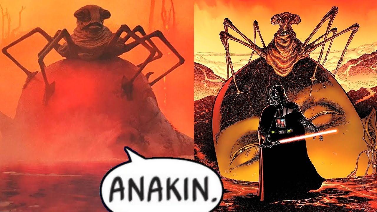 DARTH VADER MEETS THE ORACLE FROM DELETED SCENE IN RISE OF SKYWALKER(CANON) Star Wars Comics Explain