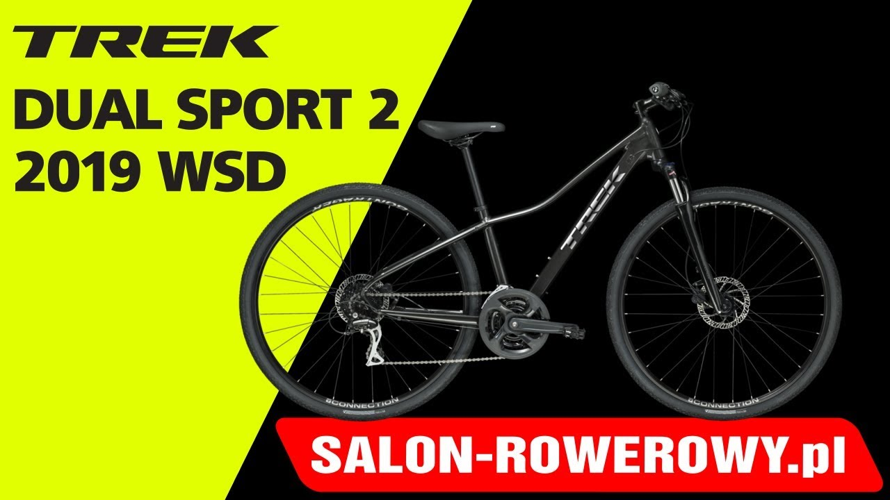 bdff8878c99 rower Trek Dual Sport 2 2019 WSD www.salon-rowerowy.pl - YouTube