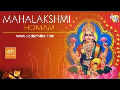 Mahalakshmi Homam to Acquire Unlimited Wealth in Life
