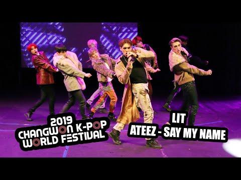 Changwon K-pop Festival Bulgaria 2019 | LIT - ATEEZ - SAY MY NAME