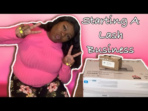 Starting My Own Lash Business 2020 | Things You Will Need Part 1 | Unboxing