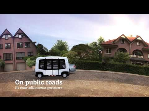 WEpods - Self driving vehicles in The Netherlands