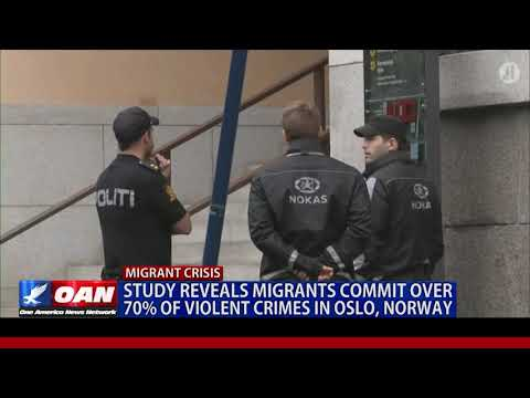 Study reveals migrants commit over 70% of violent crimes in Oslo, Norway
