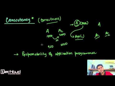 ACID Property in Database Management System