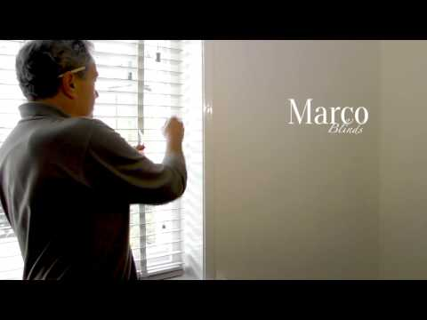 How to - Fit your made to measure wooden venetian blind - Marco Blinds