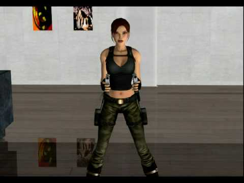 Xnalara animation lara croft vs nina williams youtube ccuart Gallery