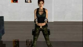 XNALara Animation : Lara Croft vs Nina Williams