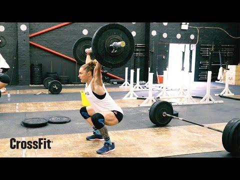 Sam Briggs: Overhead Squat/Deadlift Workout