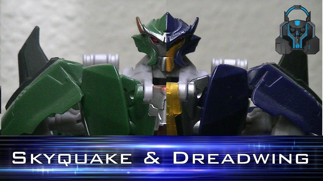 Transformers: Prime Skyquake and Dreadwing - YouTube