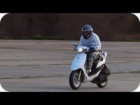 Suzuki ZZ inch up 110 cc vs Aprilia Area 51
