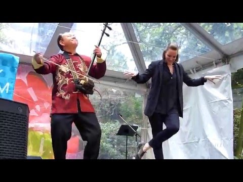 Chinese music +Tap Dance @  Cherry Blossom Festival Vancouver 2016 - Cherry Jam Downtown Concert